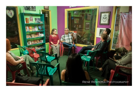 November 9, 2012 --  Austin's Rosewood Neighborhood - booksigning/presentation at Resistencia Bookstore